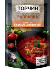 Ukrainian Borsch Soup Concentrate with Bulgarian Pepper, Torchin 240g