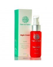 Night Cream for Dry Skin with Snail Slime, Claire de Nature