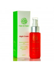 Night Cream with Celandine for Combination Skin, Claire de Nature