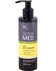 Bamboo Charcoal Facial Cleansing Gel Detox Med
