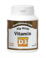 Vitamin D3 Tablets Alg-Börje