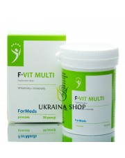 F- VIT MULTI Formeds, Witaminy i Minerały, Suplement Diety