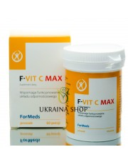 F-VIT C MAX Formeds, Vitamin C, D & Zinc Supplement Powder