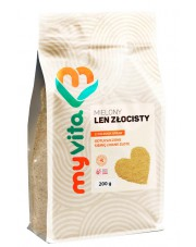 Gold Ground Flax Seed, Myvita