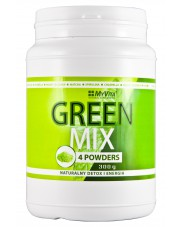 Green Mix 4W1, Spirulina, Chlorella, Matcha, Young Barley