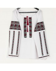 Ukrainian Embroidered Women's Shirt Vyshyvanka, Size XL