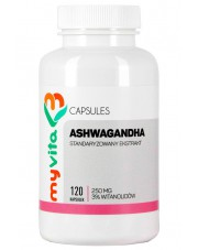 Ashwagandha 3% 250mg Tablets, Myvita