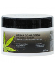 Hair Mask With Hemp Seed Oil, 200ml