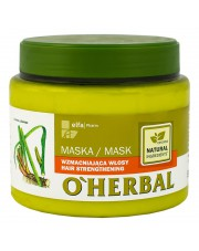 O'Herbal Hair Strengthening Mask with Tatarak Root Extract, 500ml