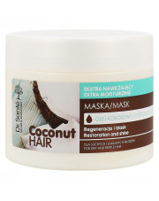 Hydrating Mask Shine For Dry And Brittle Hair, Dr. Sante Coconut Hair