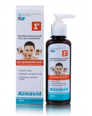 Antibacterial Wash Gel Acnacid, 150ml Elfa Pharm