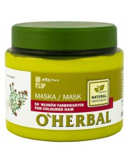 O'Herbal Mask for Coloured Hair with Thyme Extract