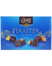 Svitoch Palitra Dark Chocolate Candies, 200g