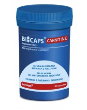 BICAPS CARNITINE Formeds, L-карнитин, 60 капсул