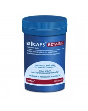 BICAPS BETAINE Formeds, Betaina, 60 kapsułek