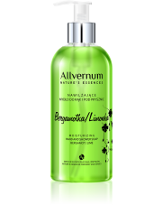 Moisturizing Hand and Shower Soap Green Bergamot & Lime, Allvernum