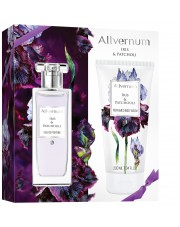 Gift Set Iris & Patchouli, Eau de Parfum and Body Balm, Allvernum