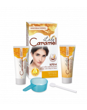 Cream Hair Bleach For Face & Body Lady Caramel