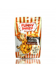 Caramel Popcorn with Peanuts and Peanut Butter, 100g