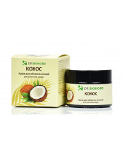 Coconut Night Face Cream, 100% Natural, Dr.Biokord