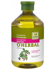 Smoothing Shampoo with Raspberry Extract, O'Herbal