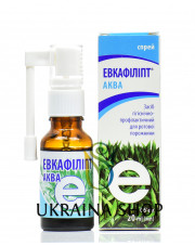 Eucafillipt Aqua, Spray, 20ml