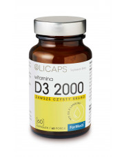 OLICAPS D3 2000, Vitamin D3 in Oil, ForMeds