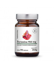 Cranberry Extract 750mg, Aura Herbals, 90 tablets