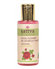 Sattva Indian Rose Face Cleansing Gel, 100ml