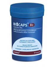 BICAPS B2, Riboflavin 40g, Formeds, 60 capsules