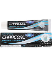 Charcoal Activated Fluoride Toothpaste, Beauty Formulas