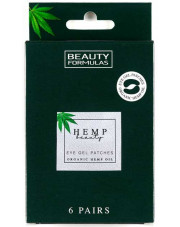 Hemp Beauty Eye Gel Patches, Beauty Formulas