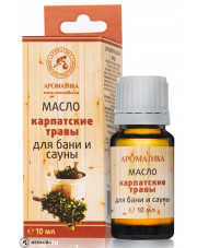 Bath and Sauna Oil Carpathian Herbs, Aromatika